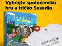 Vianočná súťaž o spoločenskú hru SUSEDIA NA CESTÁCH a tričko