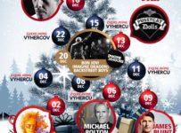 Vianočná súťaž s VIVIEN, vyhrajte hudobné balíčky