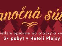 Vianoce s Verlag Dashöfer, súťaž o 3x pobyt v hoteli Plejsy