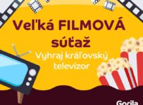 Vyhraj kráľovský televízor na Gorila.sk
