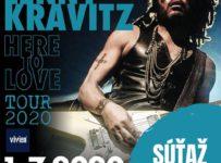 Vyhrajte lístok na koncert Lennyho Kravitza v Bratislave