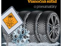 Vyhrajte poukaz v hodnote 350€ na nákup pneumatík Continental