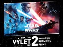 Vyhrajte výlet pre 2 na premiéru filmu Star Wars: Vzostup Skywalkera v Londýne
