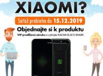 Za 3 ročnú VIP predĺženú záruku vyhrajte XIAOMI BLACK SHARK