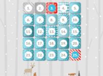 Adventný kalendár Lenovo Vianoce