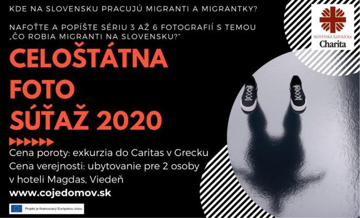 Foto súťaž 2020, vyhrajte exkurziu do Caritas v Grécku