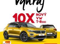Súťaž o 10 automobilov VW T-Rock