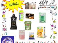Súťaž o balíček produktov od Voľba spotrebiteľov