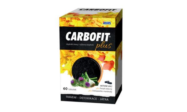 Súťaž o dve balenia Carbofit Plus