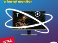 Súťaž o herný LED monitor s uhlopriečkou 28''