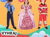 Súťaž o karnevalový kostým Malý policajt