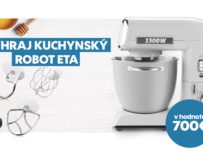 Súťaž o kuchynský robot ETA Gratus v hodnote 700€