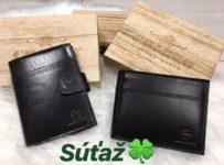 Súťaž o pánsku koženú peňaženku
