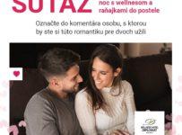 Súťaž o romantickú valentínsku noc vo Wellness Hotel Diplomat