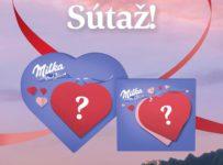 Súťaž o valentínsky Milka balíček s pralinkami a zamilovanými ponožkami