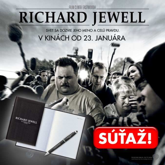 Súťaž s filmom Richard Jewell