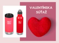 Valentínska súťaž o jednu zo špeciálnych červených termosiek
