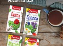 Vyhrajte celý rad liečivých čajov Popradský