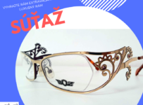 Vyhrajte extravagantný luxusný okuliarový rám