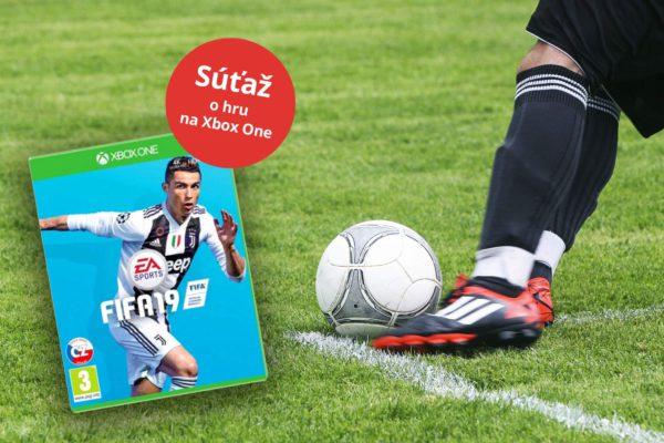 Vyhrajte v Sóde hru pre milovníkov futbalu FIFA 19