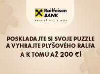 Súťaž o 100 plyšových Ralfov a 5 x finančné výhry