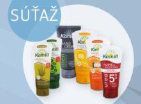 Súťaž o 15 balíčkov produktov zn. Kamill
