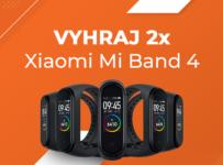 Súťaž o 2x fitness náramok Xiaomi Mi Band 4