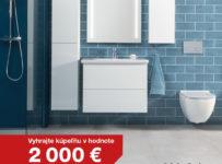 Súťaž o 2x kúpeľňové vybavenie Jika v hodnote 2000 €