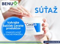 Súťaž o balíček CeraVe starostlivosť osuchú pokožku