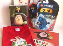 Súťaž o balíček s legom Ninjago, knihou Cirkus Romána, DVD a tričkom