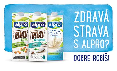 Súťaž o balíky produktov značky ALPRO v hodnote 60€