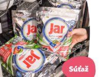 Súťaž o celoročnú zásobu Jar kapsúl do umývačky riadu