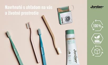Súťaž o ekologickú sadu na zubnú hygienu značky JORDAN GREEN CLEAN