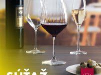 Súťaž o krásne Vínové kalichy 360 ml