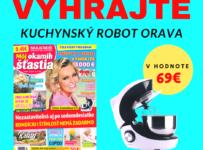 Súťaž o kuchynský robot ORAVA v hodnote 69 €