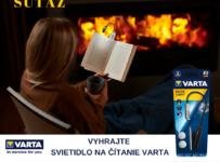 Súťaž o svietidlo na čítanie VARTA