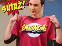 Súťaž o tričká Bazinga