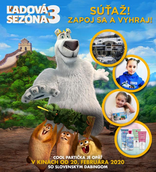 Súťaž s filmom Ľadová sezóna 3