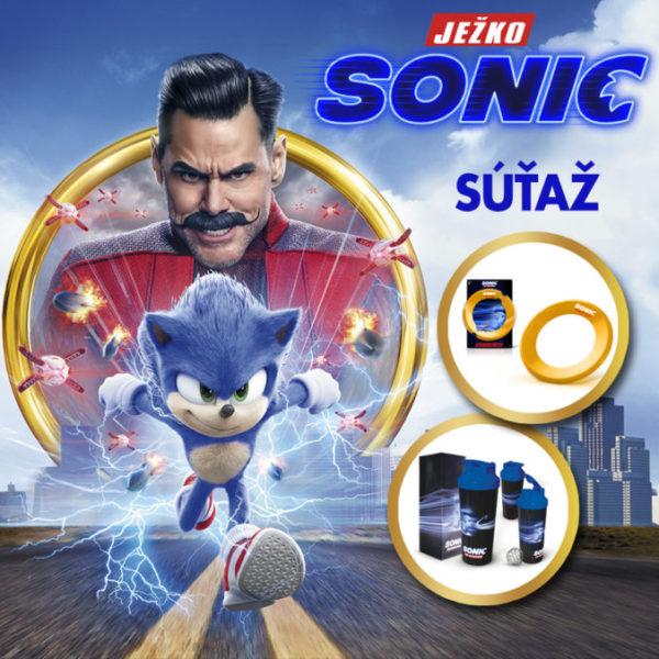 Súťaž s filmom Ježko Sonic
