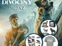 Súťaž s filmom Volanie divočiny o 2 balíčky (tričko, maketa psa, nálepky)