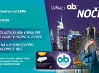 Súťaž s o.b. o nočný New York