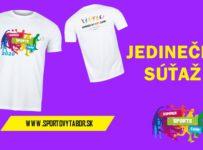 Vyhraj pre seba a kamaráta SummerSportsCamp tričko