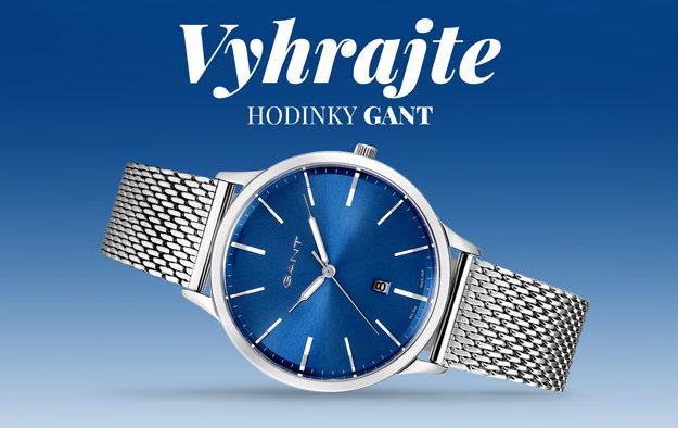 Vyhrajte módne hodinky Gant Albury GTAD05700499I