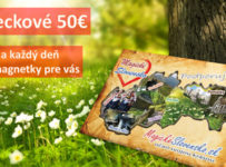 Vyhrajte super ceny, 1x vreckové 50€ a každý deň 3 magnetky