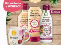 Súťaž o 10x balíček produktov Botanic Therapy a hrnček Garnier