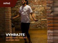 Súťaž o 5 športových tričiek od ALPINE PRO