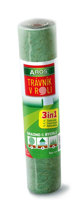 Súťaž o 5 balení Trávnik v roli od AROS-osiva