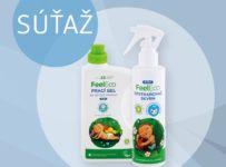 Súťaž o balíček produktov z ponuky Feel Eco Baby