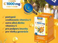 Súťaž o céčko s postupným uvoľňovaním, C 1000 mg