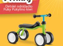 Súťaž o detské odrážadlo PUKY Pukylino